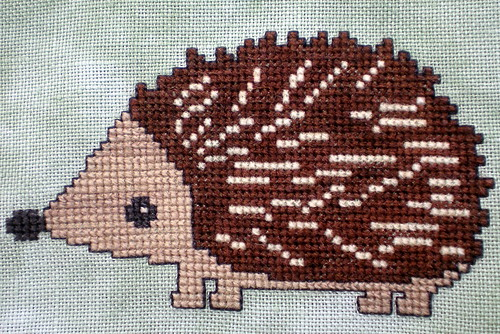 Woodland Hedgehog - finished 04.05.2013
