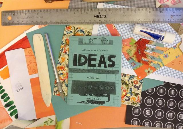 IDEAS zine by Katie Licht