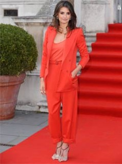 Penelope Cruz Camisole Vest Celebrity Style Women's Fashion