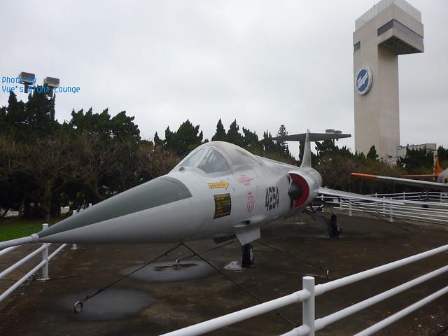 室外飛機公園 F-104星式戰鬥機