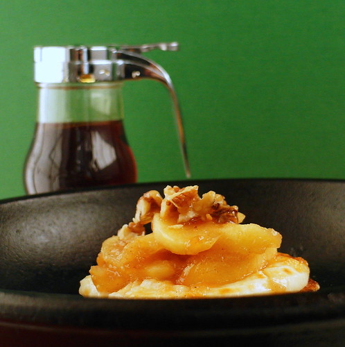 Stewed Fuji Apple Tartine