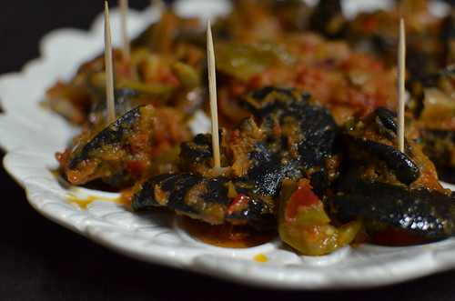 how to cook nigerian snails