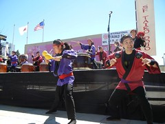 SF Taiko at Cherry Blossom Festival 2