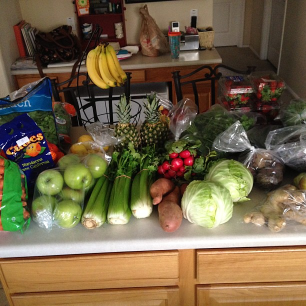 Tried a new place for my produce. All this for $45!