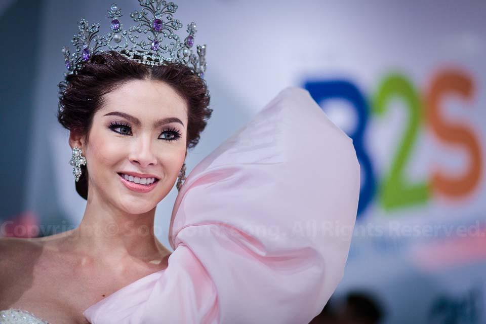 Reigning Miss Tiffany's Universe 2012, Panvilas Mongkol @ Bangkok, Thailand