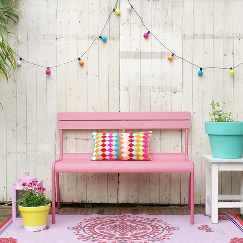 Wood wool stool le jardin for Jardin woolens