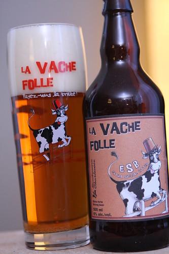 Microbrasserie Charveloix La Vache Folle E.S.B.