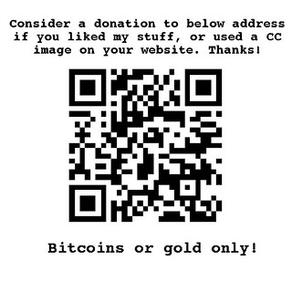 Make a donation in bitcoins