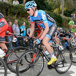 Report: Martin nearly podiums at La Flèche Wallonne