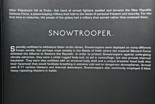 "Sideshow 12"" Snowtrooper"