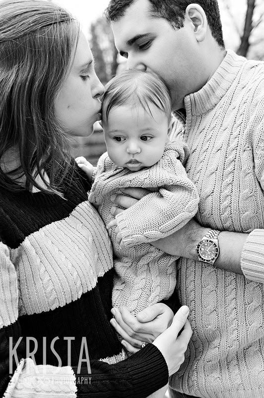 Baby boy portrait session