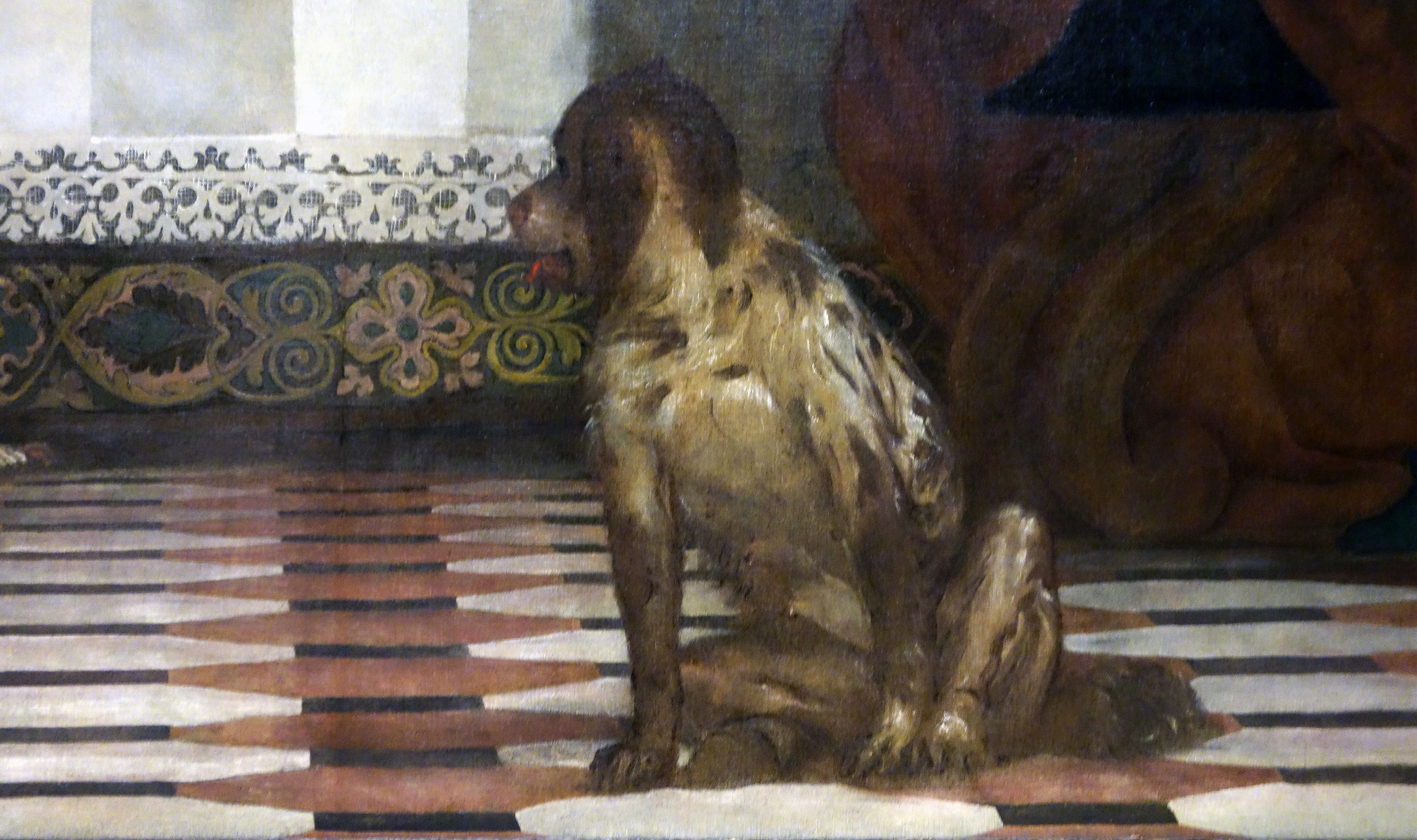 Detail of dog, Paolo Veronese, Feast in the House of Levi ...