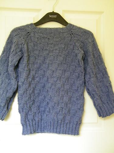 Hand Knitted Children's Jumper - Handgestrickter Kinder Pullover by abracacamera