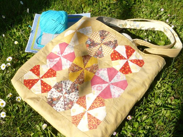 Rescuing Old Quilt Blocks with English Paper Piecing