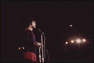 The Rev. Jesse Jackson Addressing An Audience At The Annual Push 'black Expo' In Chicago, 10/1973