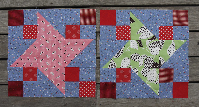 Bee blocks for Linda