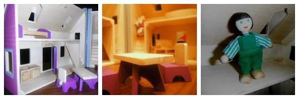 Melissa and Doug Fold and Go Wooden Dolls House from woodentoyshop.co.uk