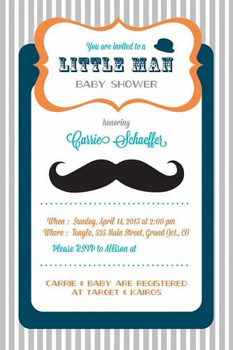 Carrie's Baby Shower invite