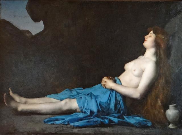 Madeleine dans le désert (Musée J.-J. Henner)