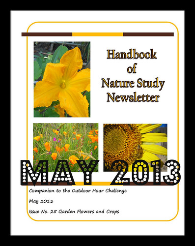 Handbook of Nature Study Newsletter May 2013 cover button