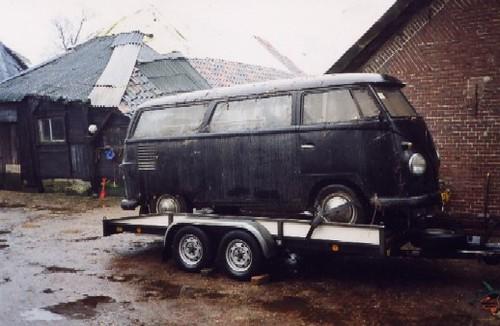 DE-77-54 Volkswagen Transporter kombi 1961