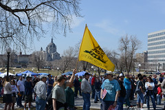 Minnesota anti-tax rally 2013