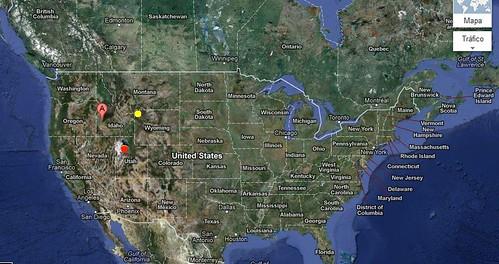 EEUU de Este a Oeste o de Oeste a Este. Dirección del viento