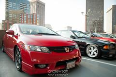honda civic type r(0.0), sports car(0.0), automobile(1.0), automotive exterior(1.0), wheel(1.0), vehicle(1.0), automotive design(1.0), rim(1.0), honda(1.0), bumper(1.0), honda civic hybrid(1.0), land vehicle(1.0), honda civic(1.0),