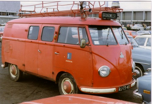 RJ-73-40 Volkswagen Transporter bestelwagen 1958