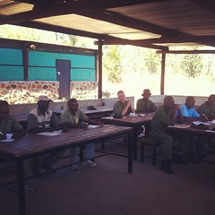 First day of the medical course for #vicfalls area units