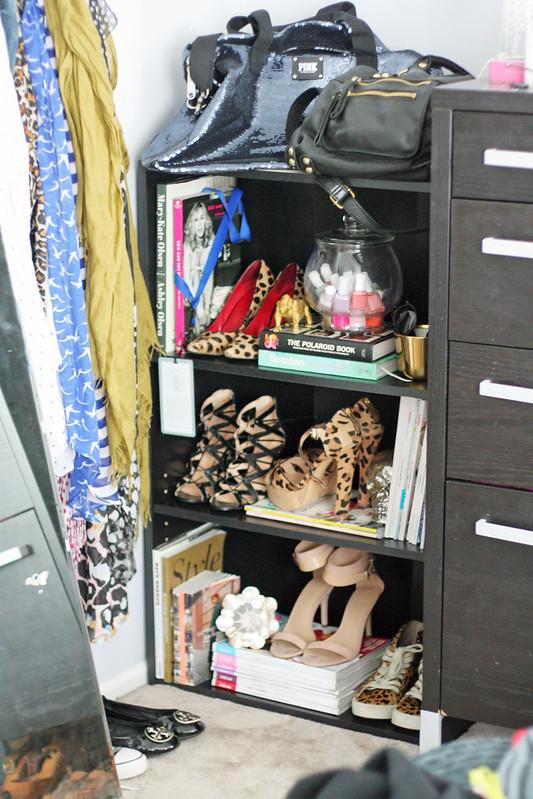 shoe + etc shelf