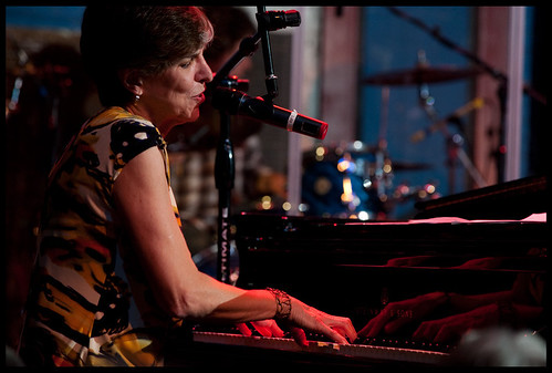 Marcia Ball  at WWOZ's Piano Night.  Photo by Ryan Hodgson-Rigsbee www.rhrphoto.com