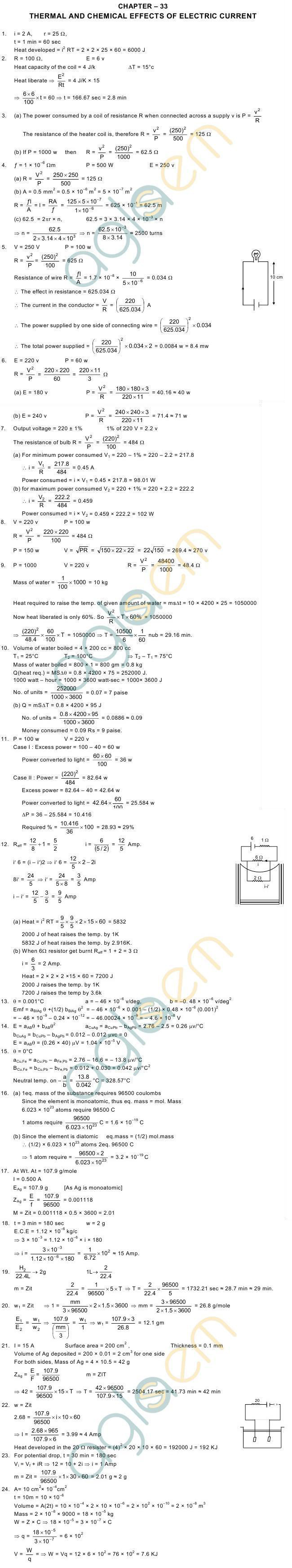 electric current in conductors hc verma solutions pdf