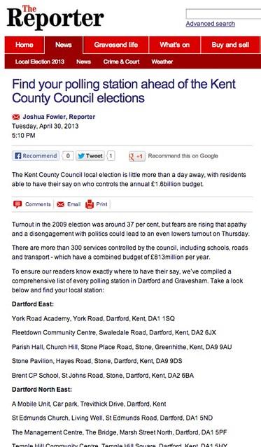 polling station list