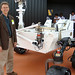 Roger Wiens and the Curiosity rover.