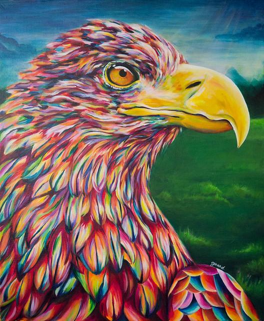 Acrylic Paintings Of Farm Animals