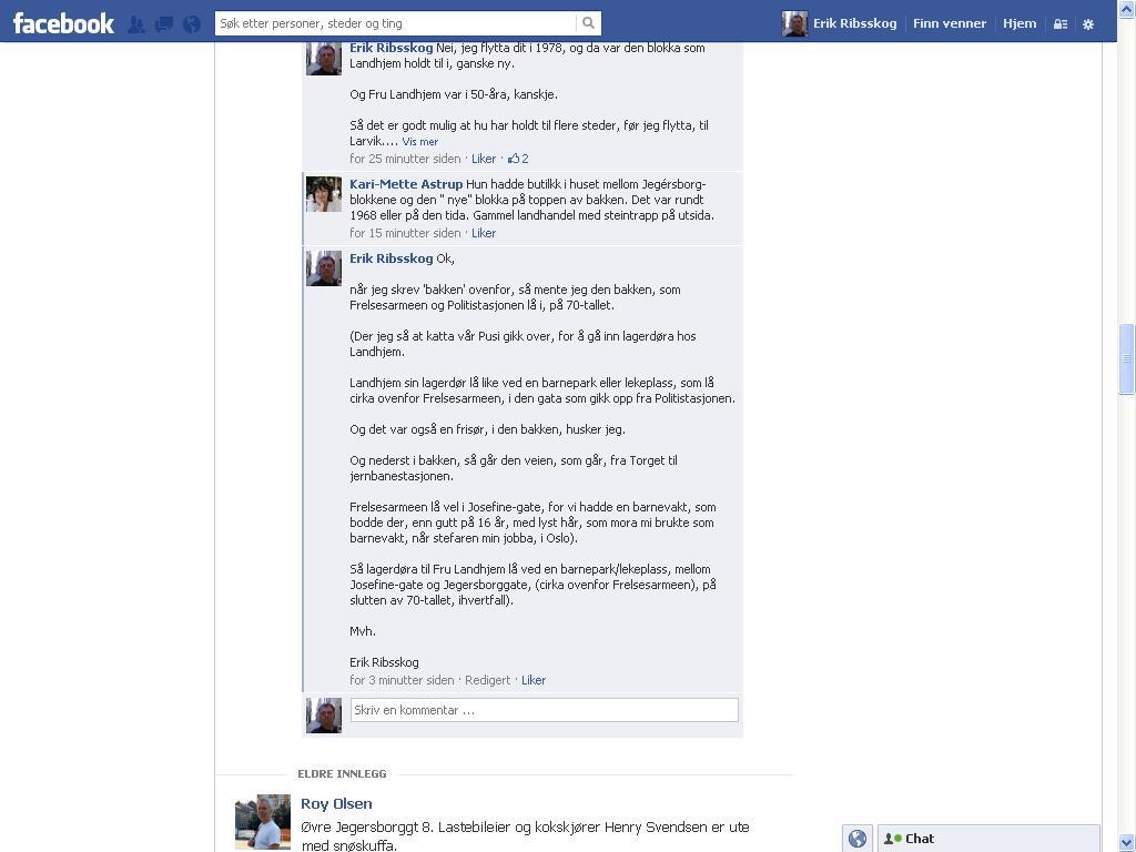 facebook landhjem
