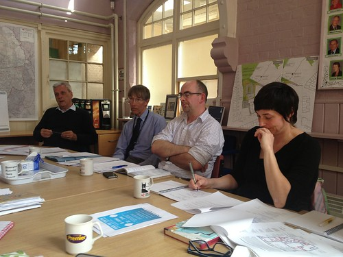 Stirchley baths meeting re heritage lottery fund
