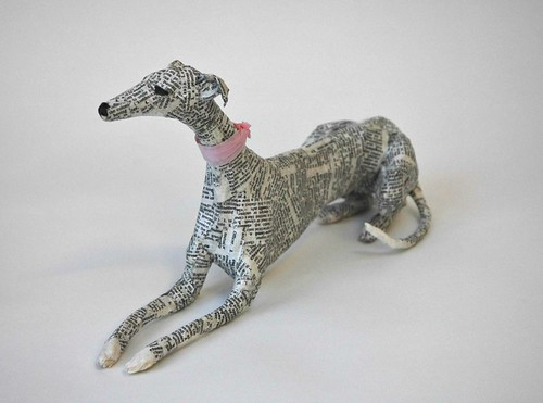 paper-dog-sculpture