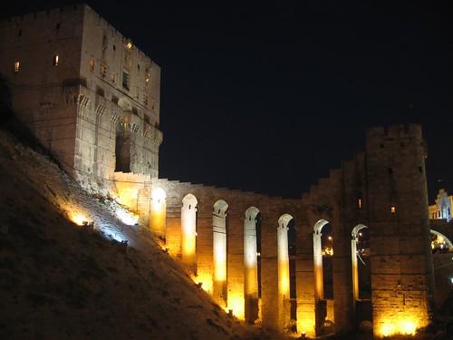 Foto de la ciudadela de Alepo (Siria)
