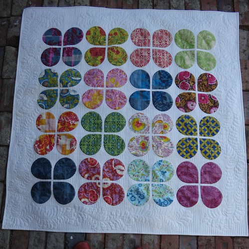 Full quilt - Retro Flowers
