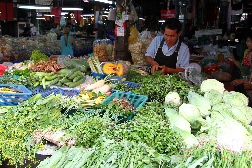 Chiang Mai: Vegetable Stall