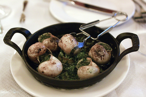 Escargot in Garlic Butter