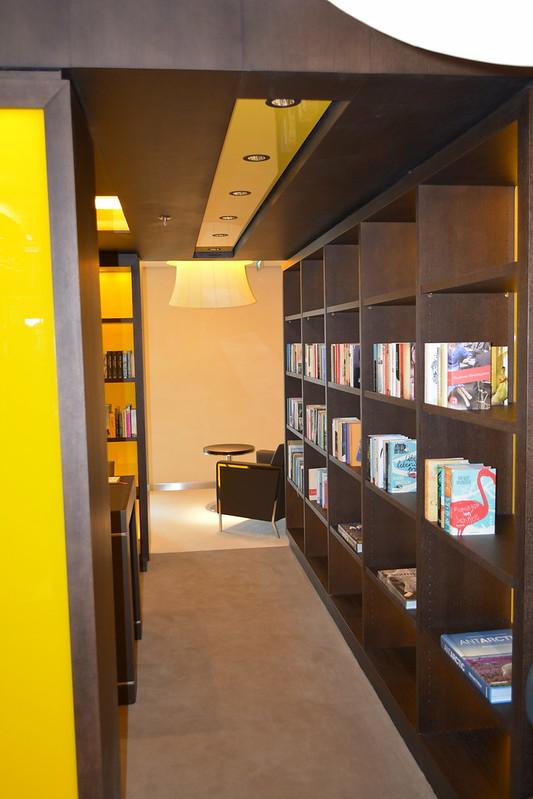 Bibliothèque - Visite du MS EUROPA 2 - Bordeaux - 20 mai 2013