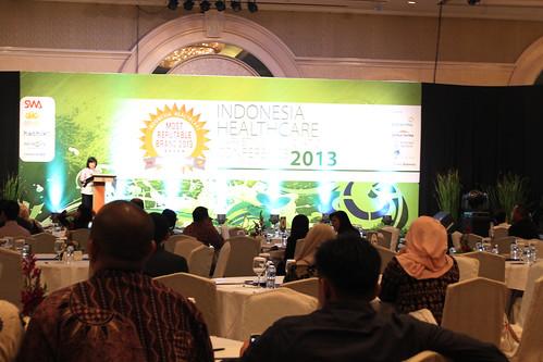 Indonesia Health Care Marketing & Innovation Conference 2013 – Kementerian Pariwisata dan Ekonomi Kreatif Republik Indonesia.