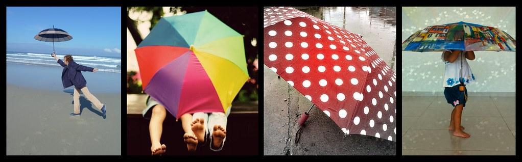paraguas mosaico