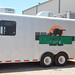 JD Harvester works trailer