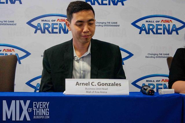 SM Arena Anniversary Presscon