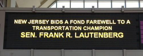 Frank Lautenberg send off