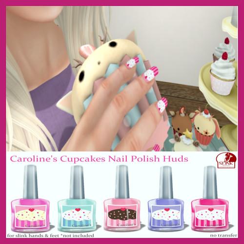 Cupcakes Nail Polish